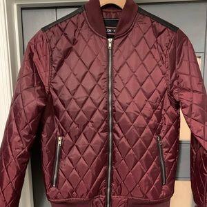 Men's light weight bomber jacket